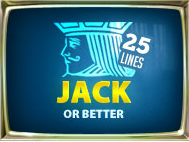 Jacks Or Better 25 Lines